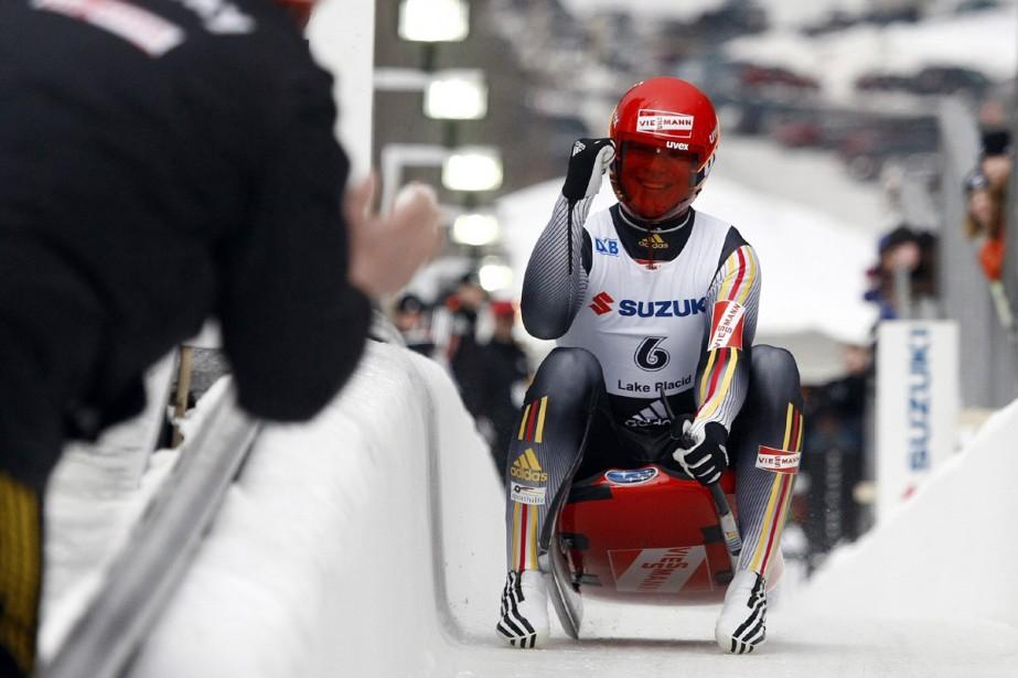 Felix Loch... (Photo: Reuters)