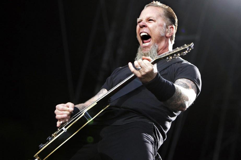 James Hetfield, chanteur de Metallica.... (Photo: Reuters)