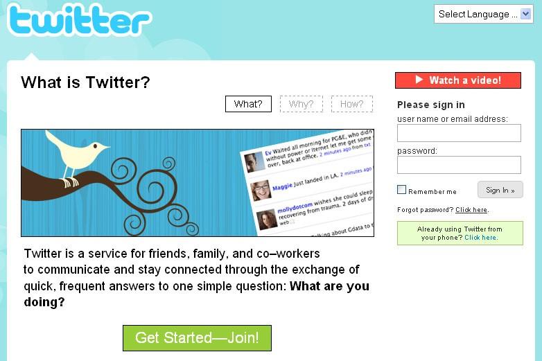 Il y a d'abord eu le site web, ensuite le blogue et, maintenant, le...