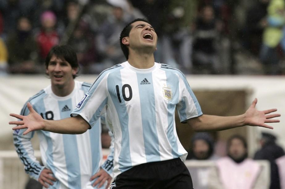 Juan Roman Riquelme... (Photo: AP)