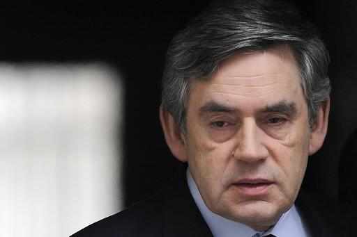 Le premier ministre britannique Gordon Brown... (Photo: Reuters)