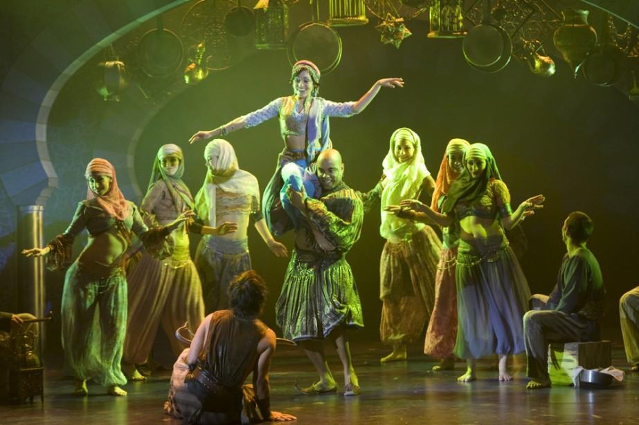 Sherazade est bel et bien un divertissement populaire... (Photo: André Pichette, La Presse)