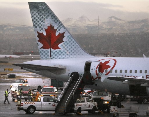 Air Canada a intenté une poursuite contre l'administration... (Photo: Reuters)