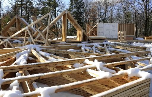 La construction a représenté plus de la moitié... (Photo: Archives La Presse)