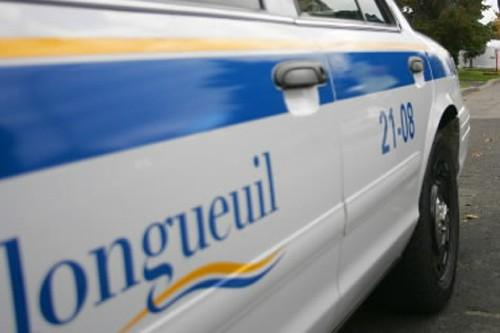 Un policier de Longueuil a dû faire... (Photo: David Boily, Archives La Presse)