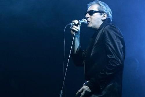 Les obsèques d'Alain Bashung, l'un des chanteurs les... (Photo: Archives AFP)