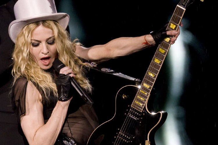 Madonna... (Photo: AFP)