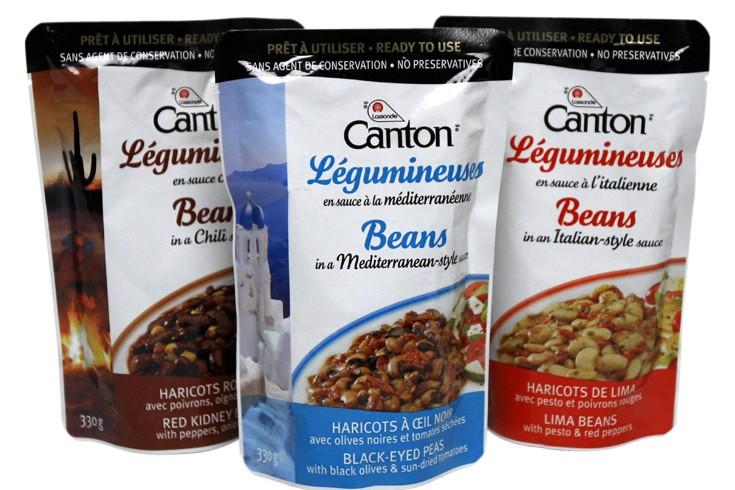 Les pochettes d'aliments se multiplient à l'épicerie. Pesto, sauces, soupes et...