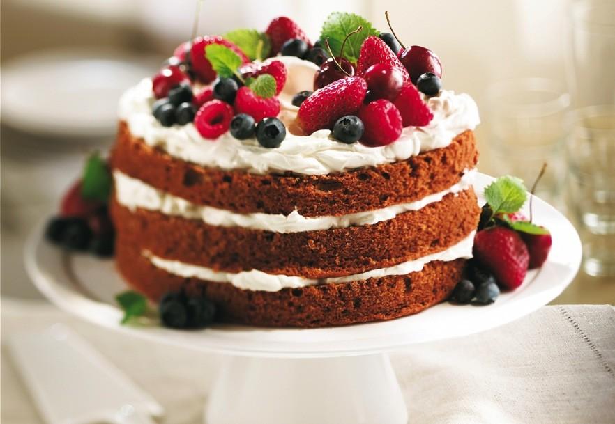 Gâteau à la vanille  Recettes