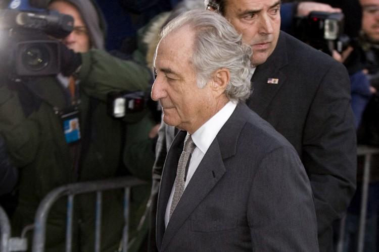 Bernard Madoff... (Photo: Bloomberg)