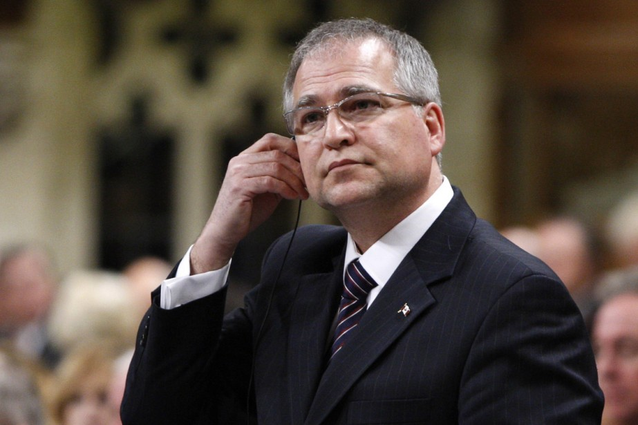Le ministre des Sciences et Technologies, Gary Goodyear.... (Photo La Presse Canadienne)