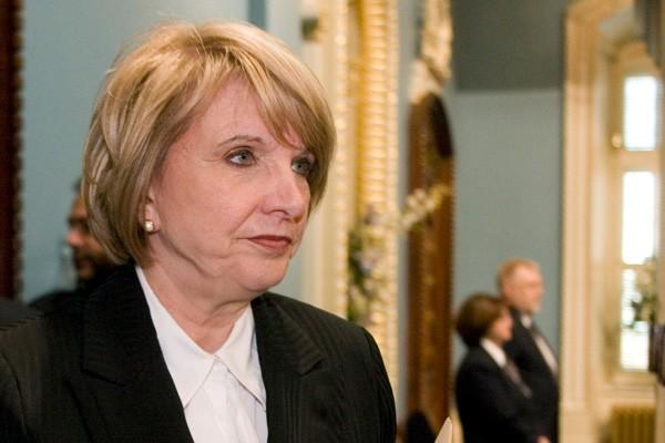 La ministre des Finances du Québec, Monique Jérôme-Forget... (La Presse Canadienne)