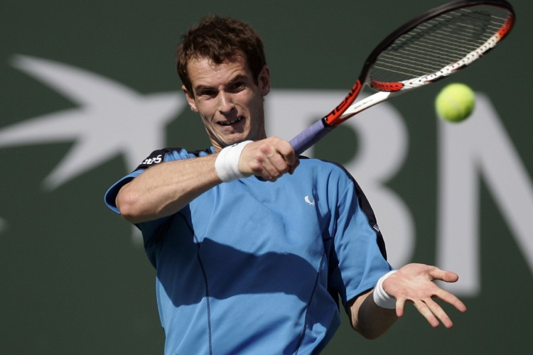Andy Murray... (Photo: Reuters)