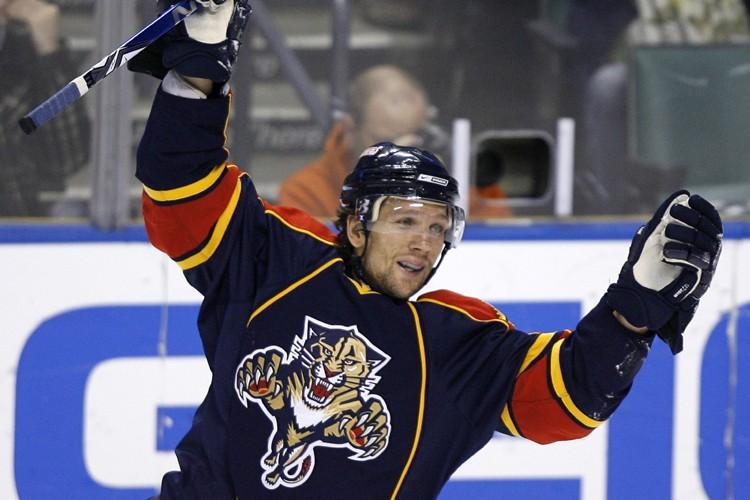 Richard Zednik a marqué pour les Panthers en... (Photo: Reuters)