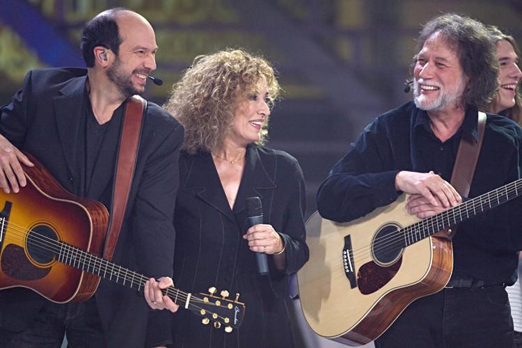 Michel Rivard, Marie Michèle Desrosiers et Pierre Bertrand... (Photo: François Roy, La Presse)