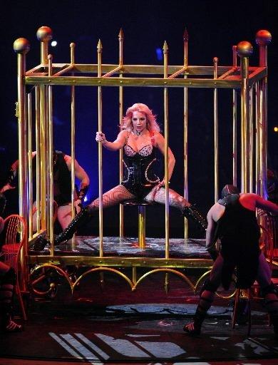 Britney Spears... (Bernard Brault, La Presse)