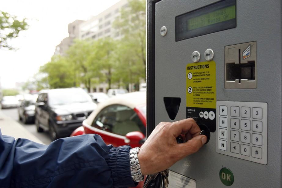 Payer Contravention Montréal >> Une Panne A Paralys Eacute Les Parcom Egrave Tres Agrave