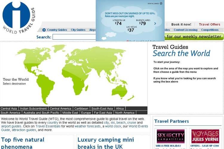 Les 10 meilleurs sites de voyage val rie simard voyage for Meilleur site reservation sejour