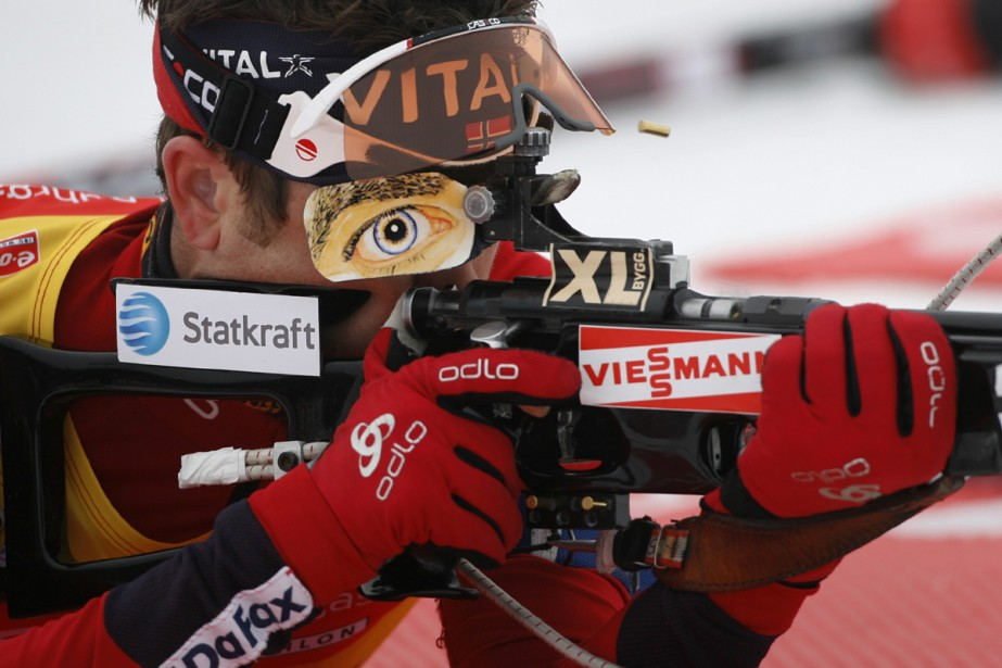 Ole Einar Bjoerndalen... (Photo: Reuters)