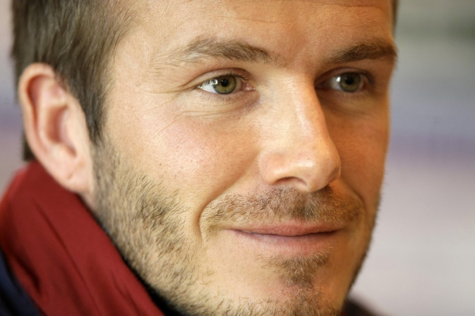 David Beckham... (Photo: AP)