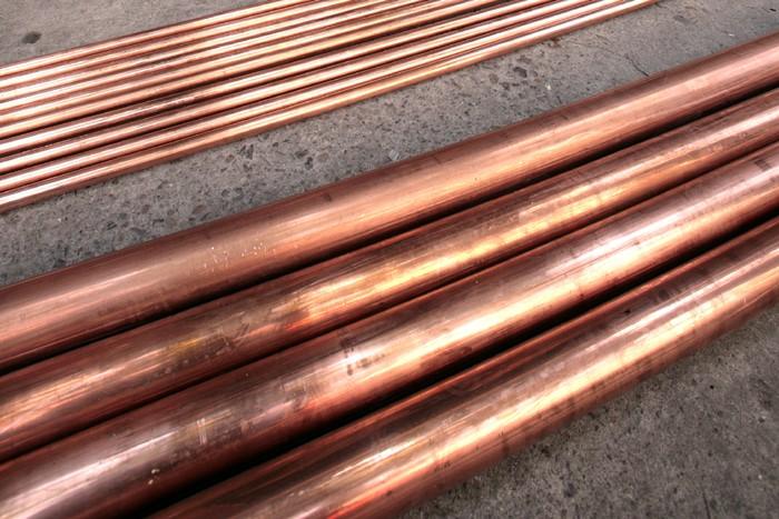 Le cuivre, baromètre du marché, a franchi cette... (Photo: Bloomberg)
