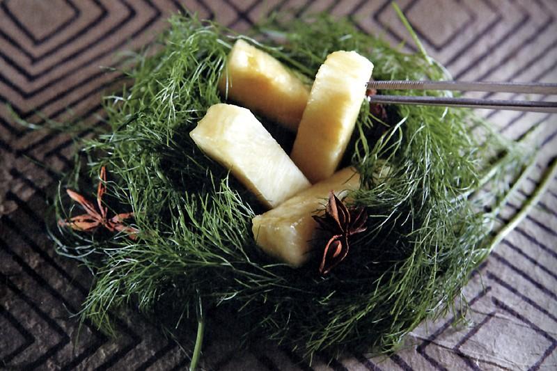 Ananas fenouil la cuisine mol culaire - Cuisine moleculaire quebec ...