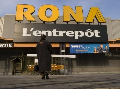 Rona, un «fleuron» ? Laissez-moi rire! C'est plutôt... (Photothèque La Presse)