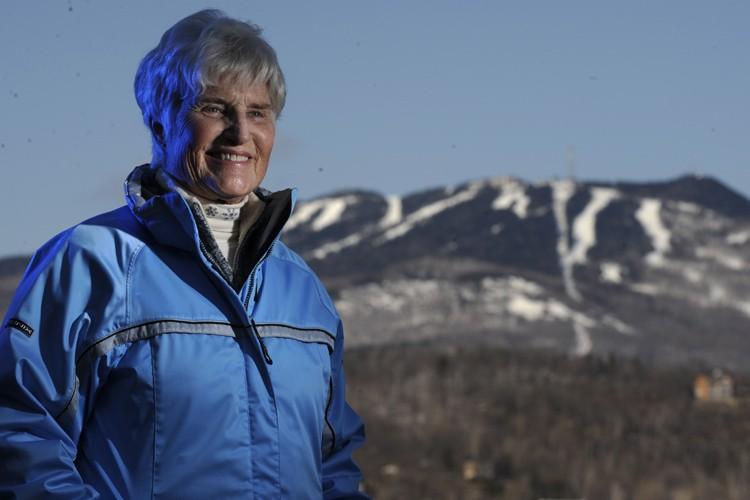 Lucile Wheeler, première championne olympique canadienne de ski... (Photo: Bernard Brault, La Presse)