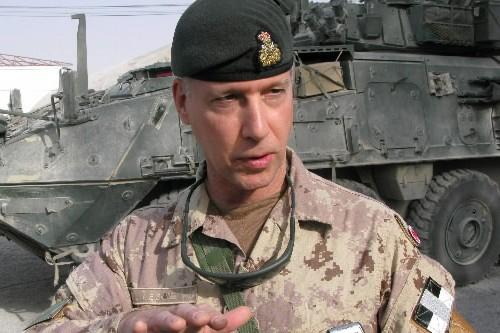 Andrew Leslie à l'époque où il était lieutenant-général... (Photo: Archives PC)