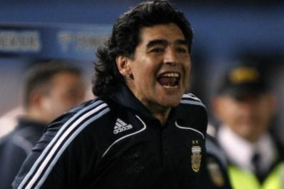 Diego Maradona... (Photo: Reuters)