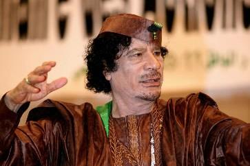 Moammar Kadhafi... (Photo: AFP)