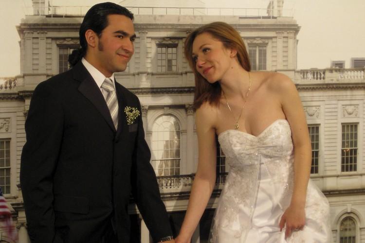 Le Bureau des mariages de New York attire... (Photo: Yves Schaëffner)