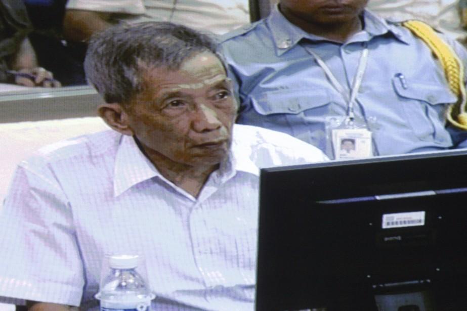 Kaing Guek Eav, connu sous le nom de... (Photo: Reuters)