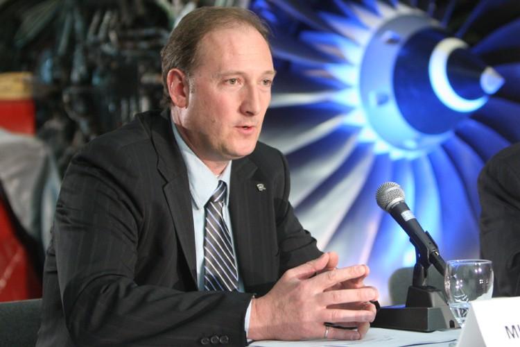 Le président et chef de l'exploitation de Rolls-Royce... (Photo: Martin Chamberland, La Presse)