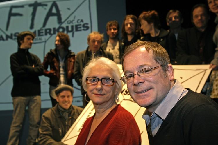 Marie-Hélène Falcon, directrice générale et artistique duFestival TransAmériques... (Photo: Robert Mailloux, La Presse)