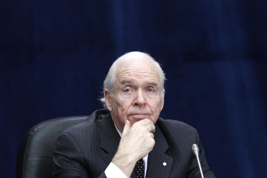 Derek Burney.... (Photo La Presse Canadienne)