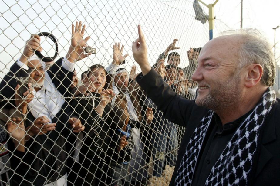 Le député George Galloway sale les Palestiniens à... (Archives Reuters)
