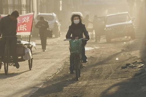 Linfen, dans le nord de la Chine, est... (Photo: Archives AFP)