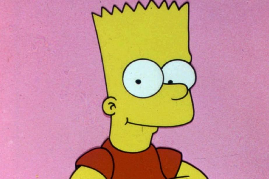 Les héros du dessin animé au vitriol sur la famille américaine, les Simpson,...