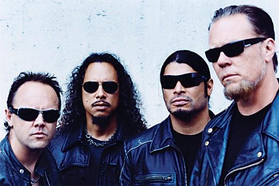 Les membres du groupe Metallica.... (Photothèque Le Soleil)