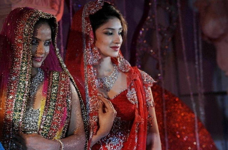 Les mariages indiens sont réputés pour leur extravagance... (AFP)