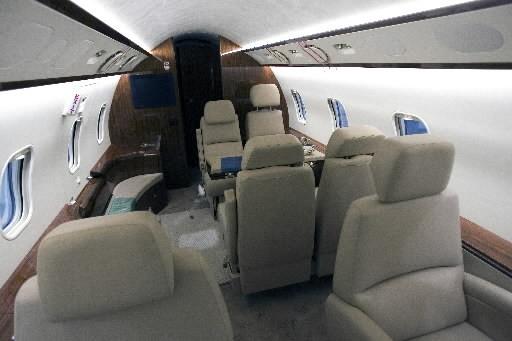 Les avions d'affaires sont moins en demande avec... (Photo: Archives La Presse)