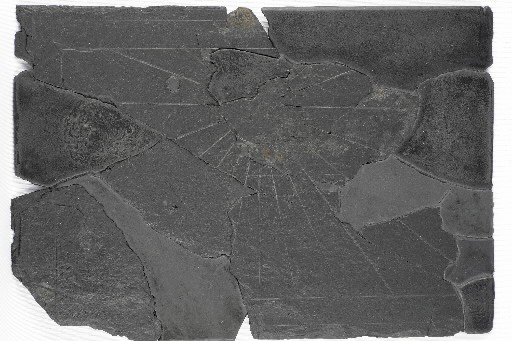 Les fragments du cadran solaire ont été retrouvés... (Photo fournie par l'École de fouilles archéologiques de Pointe-à-Callière)