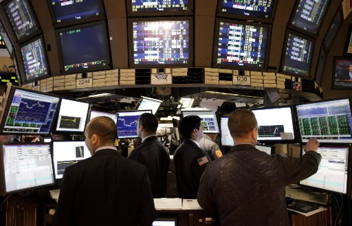 La Bourse de New York évoluait en hausse jeudi à la... (Photo: Associated Press)