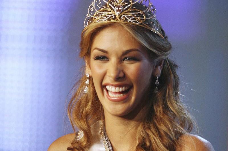 Miss Univers 2008, la Vénézuélienne Dayana Mendoza.... (Photo: Reuters)