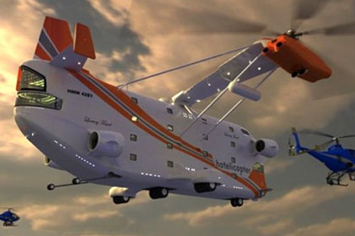 L'Hotelicopter...