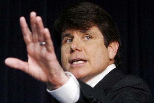 L'ancien gouverneur de l'Illinois, Rod Blagojevich.... (Photo Reuters)