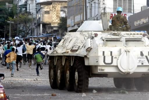 Les deux plus grands partis politiques de Sierra Leone qui s'étaient... (AFP)