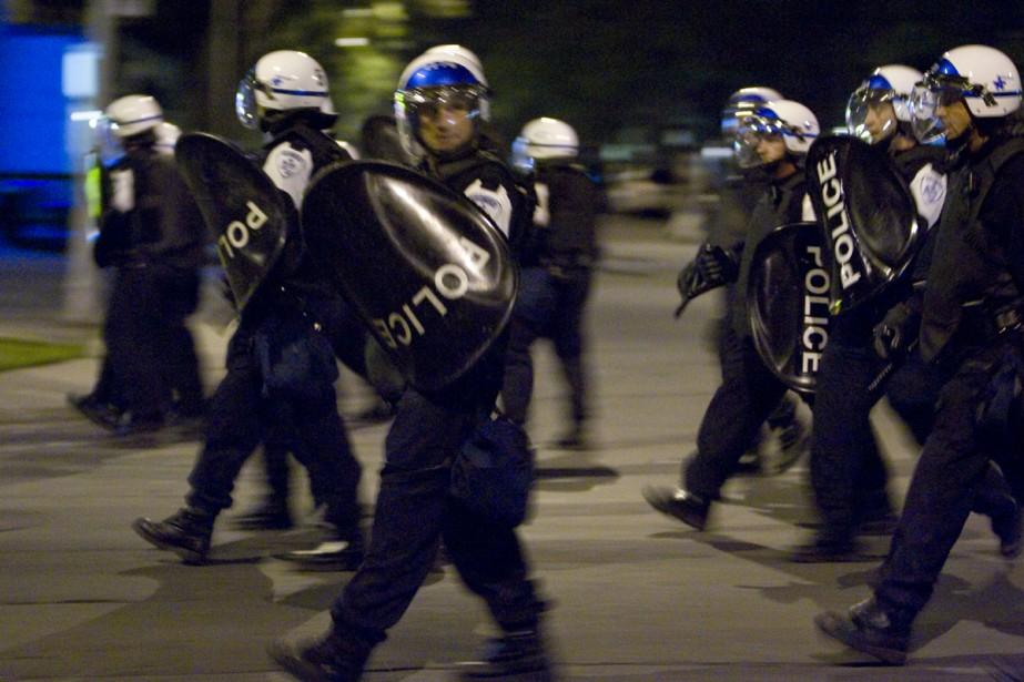 C'était en août 2008. Une émeute éclate à... (Photo: David Boily, La Presse)
