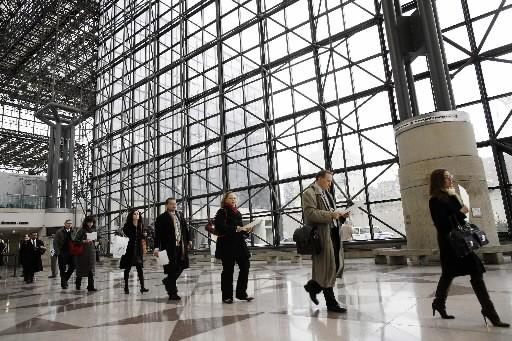 Des chercheurs d'emploi participaient à un salon new-yorkais... (Photo: Reuters)